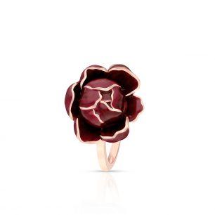 Pierścionek srebrny Kwiaty Nocy SDL/PS043R