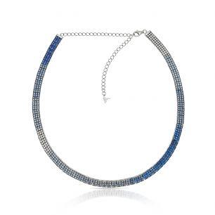 Choker srebrny Preludium SDL/NC297