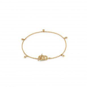 Bransoleta złota Gucci ZUC/AB+16