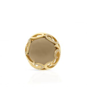 Pierścionek złoty ENRICO CAPRA ZCR/PB+124