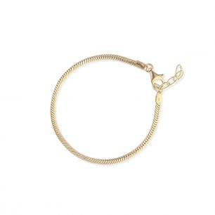 Bransoleta srebrna do zawieszek lovely beads SCR/AS165Z