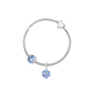 Zawieszka srebrna Kwiaty Nocy SDL/HC226