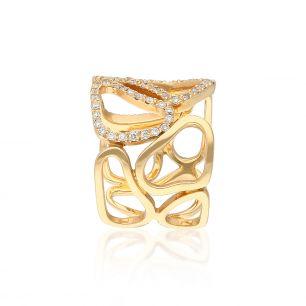 Pierścionek różowe złoto ENRICO CAPRA ZCR/PB+103R