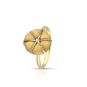 Pierścionek złoty Nanis ZNA/PB+157K