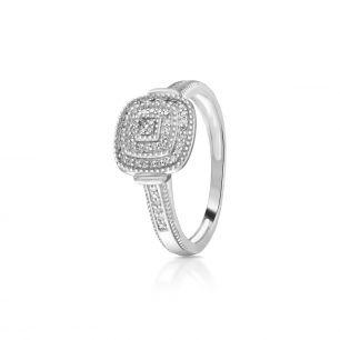 Pierścionek z diamentami ZCG/P+1001B
