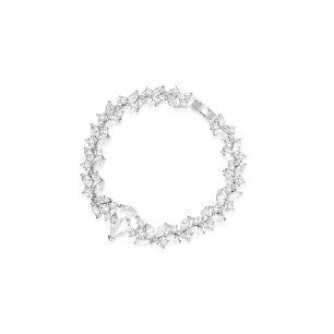 Bransoleta mosiężna z cyrkoniami SYO/AC150