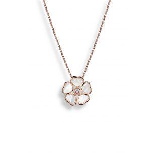 Naszyjnik różowe złoto HAPPY HEARTS Chopard ZPD/NB+70R