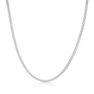 Łańcuszek srebrny bismark SCR/LS063