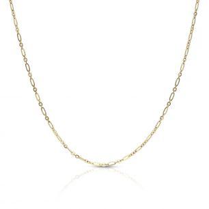 Łańcuszek złoty figaro ZVI/LG01
