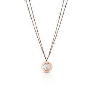 Naszyjnik różowe złoto HAPPY DIAMONDS Chopard ZPD/NB+62BK