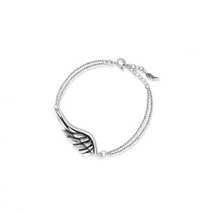 Bransoleta srebrna Freedom WWK/AS1510