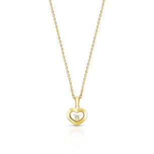 Złoty naszyjnik Happy Diamonds Chopard ZPD/NB+05