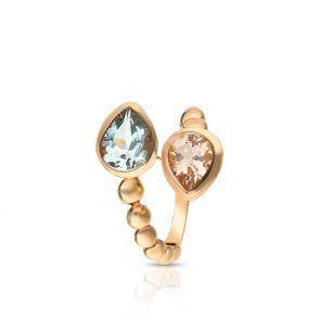 Pierścionek różowe złoto Casato ZTT/PB+142R