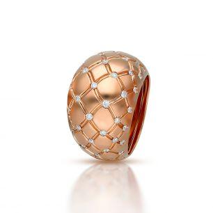 Pierścionek złoty Enrico Capra ZCR/PB+111R