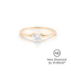 Pierścionek zaręczynowy złoty Doskonały XWK/PB-14