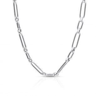 Naszyjnik srebrny maxi SSX/NS396