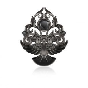 Pierścionek srebrny Rajski Ogród SDL/PC112C