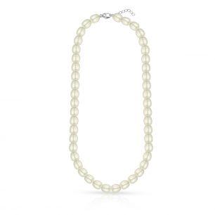 Naszyjnik srebrny z perłami STW/NP029