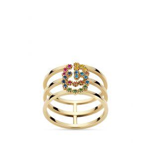 Pierścionek złoty Gucci ZUC/PW22
