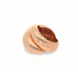 Pierścionek różowe złoto DAMIANI ZII/PB+40R