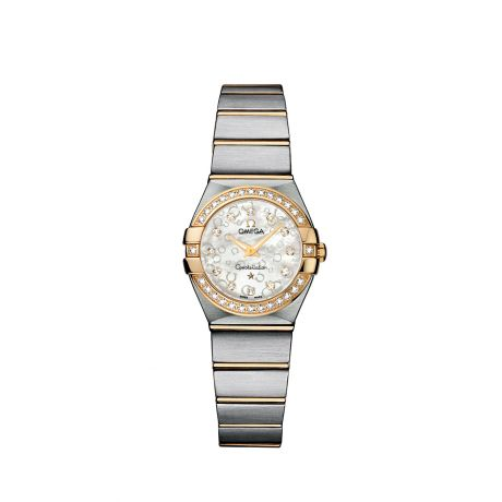 ZEGAREK OMEGA Constellation Brushed