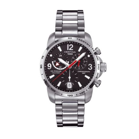 ZEGAREK CERTINA DS Podium Big Size Chrono GMT