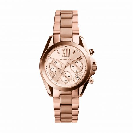 ZEGAREK MICHAEL KORS LADIES ROSE GOLD TONE
