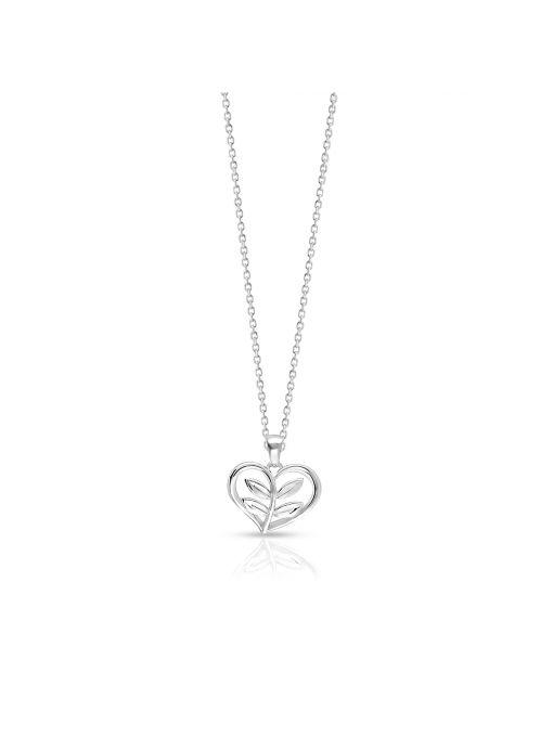 Wisiorek srebrny serce
