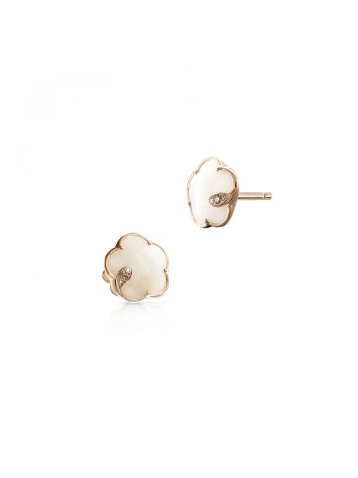 Kolczyki różowe złoto Pasquale Bruni
