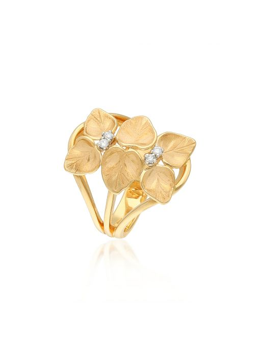 Pierścionek różowe złoto ANNA MARIA CAMMILLI