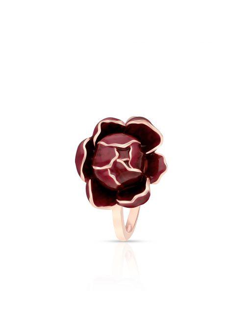 Pierścionek srebrny Kwiaty Nocy