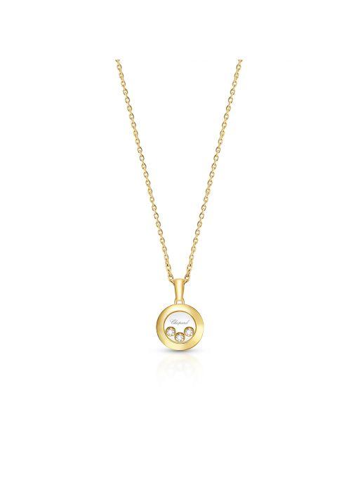 Naszyjnik złoty Happy Diamonds Chopard