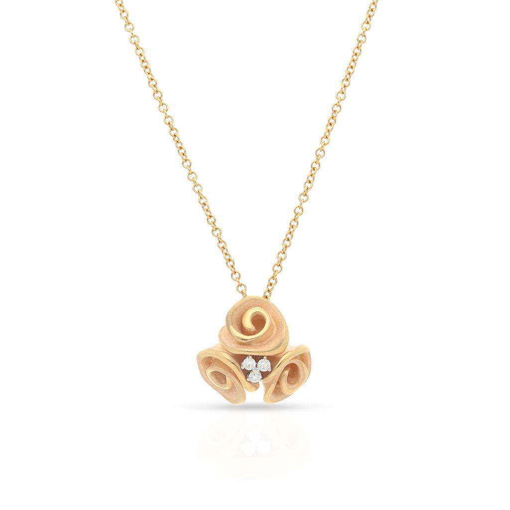 Naszyjnik różowe złoto ANNA MARIA CAMMILLI
