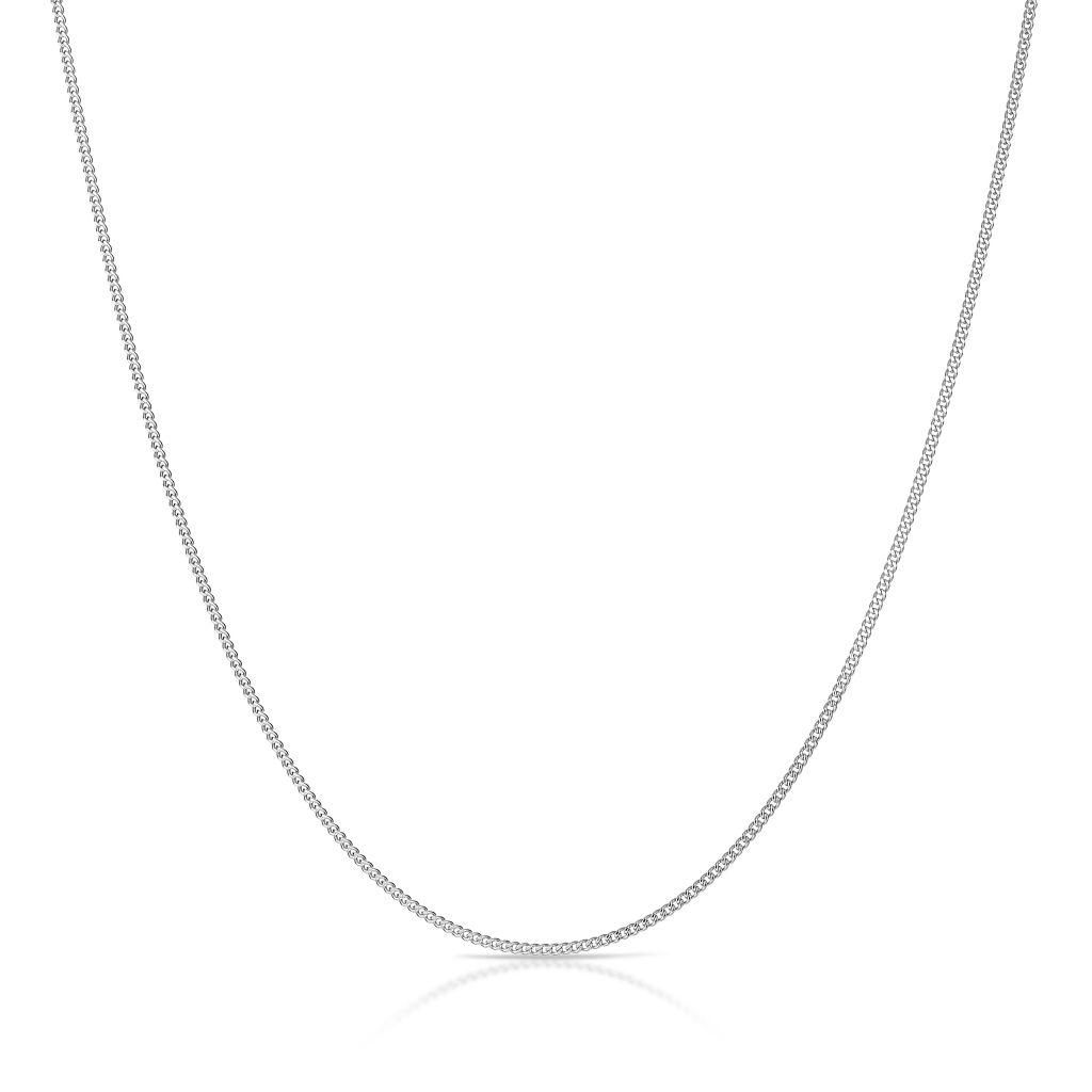 Łańcuszek srebrny żmijka