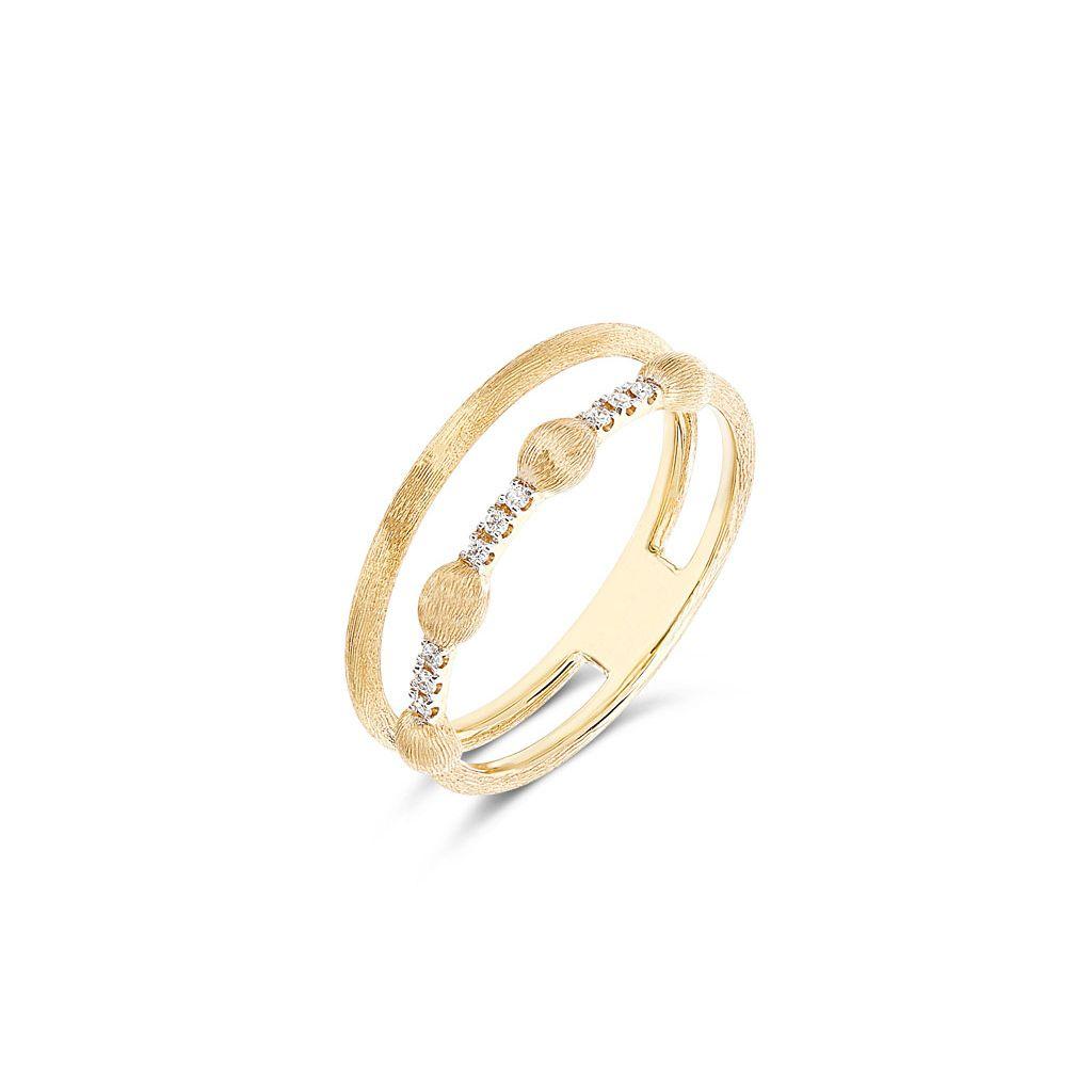 Pierścionek złoty Nanis