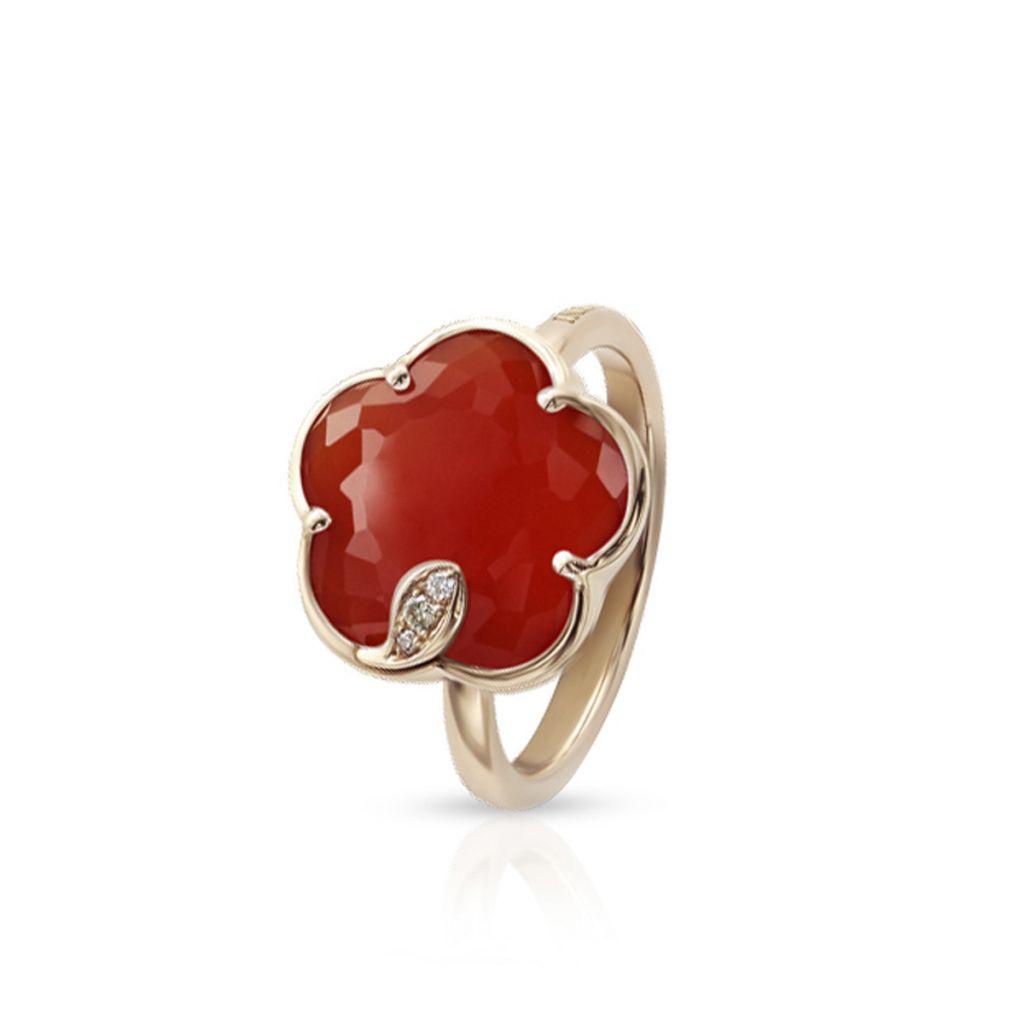 Pierścionek różowe złoto Pasquale Bruni