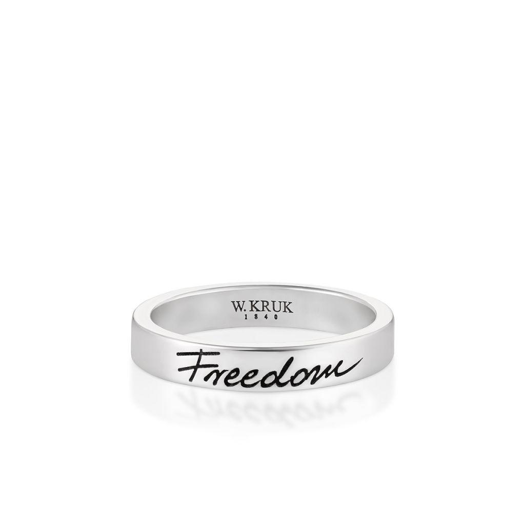 Pierscionki Pierscionek Srebrny Freedom Wwk Ps1325