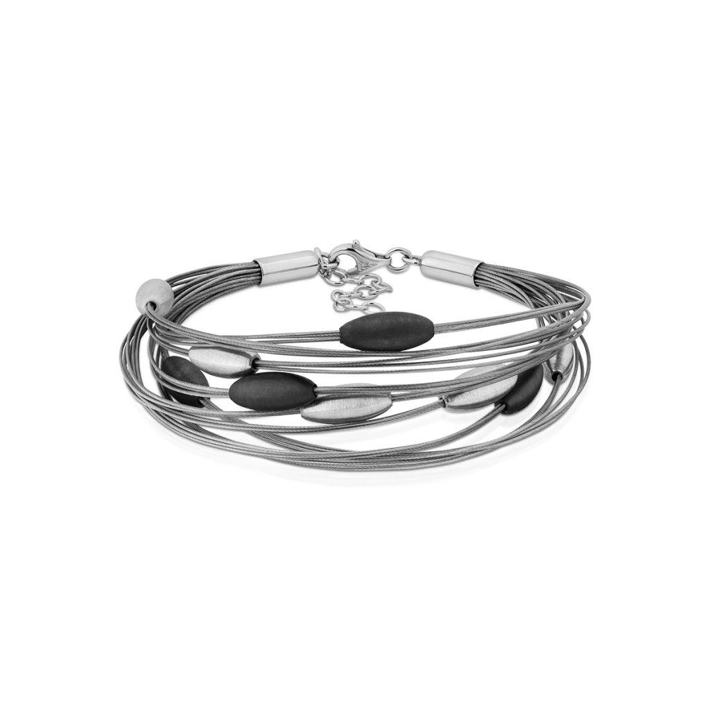Bransoleta srebrna W.KRUK - SAR/AS219