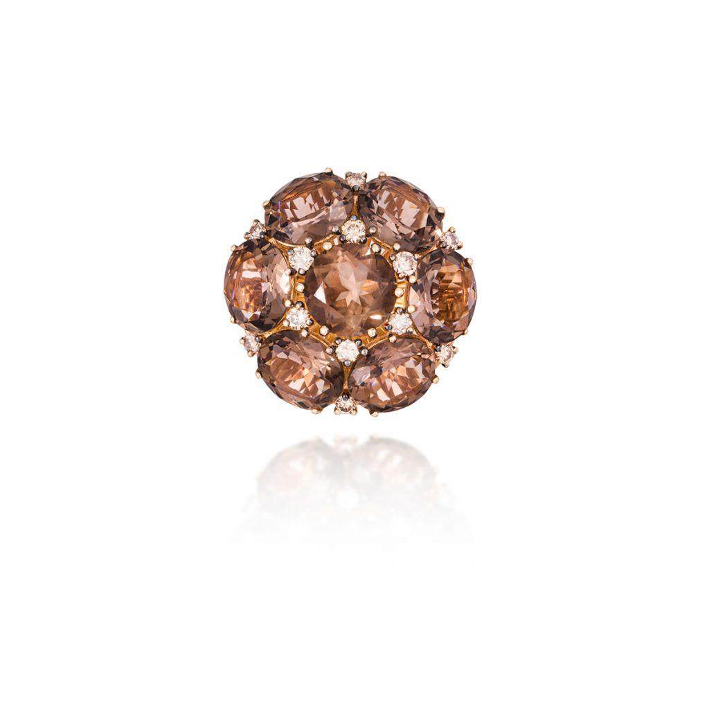 pierścionki, pierścionki zaręczynowe pierścionek złoty garavelli - w.kruk