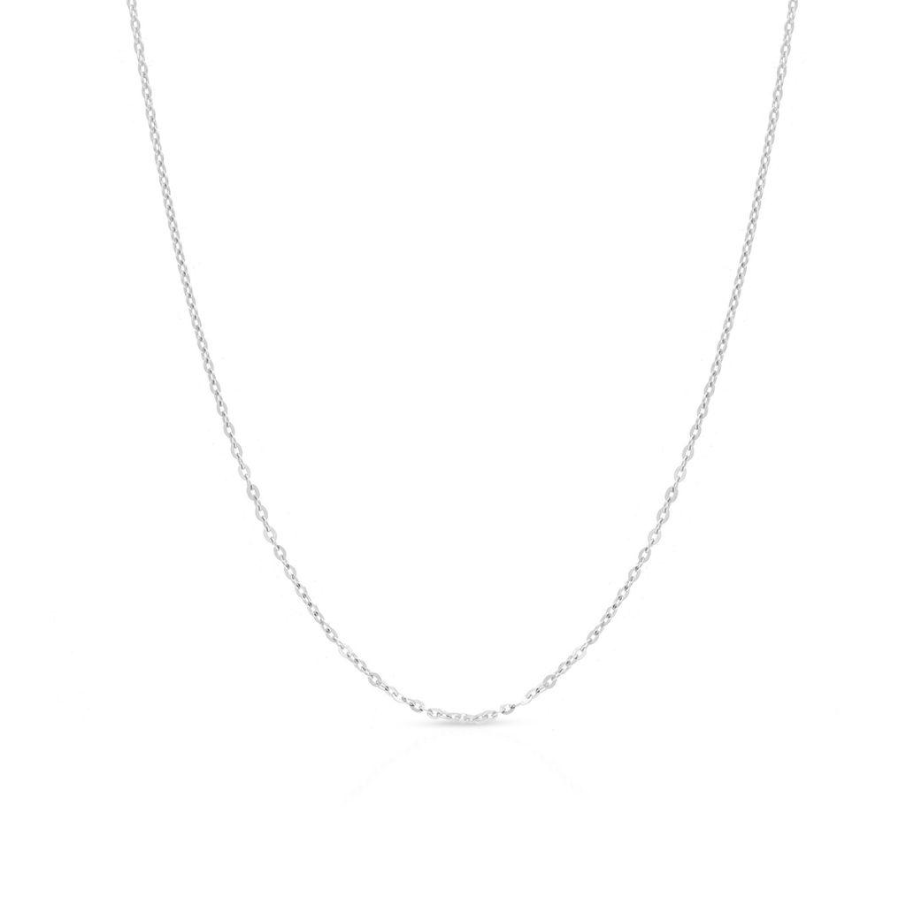 Łańcuszek srebrny ankier