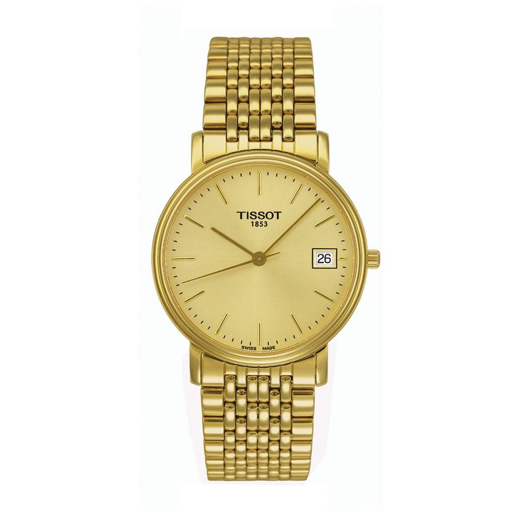 złoty zegarek tissot modele