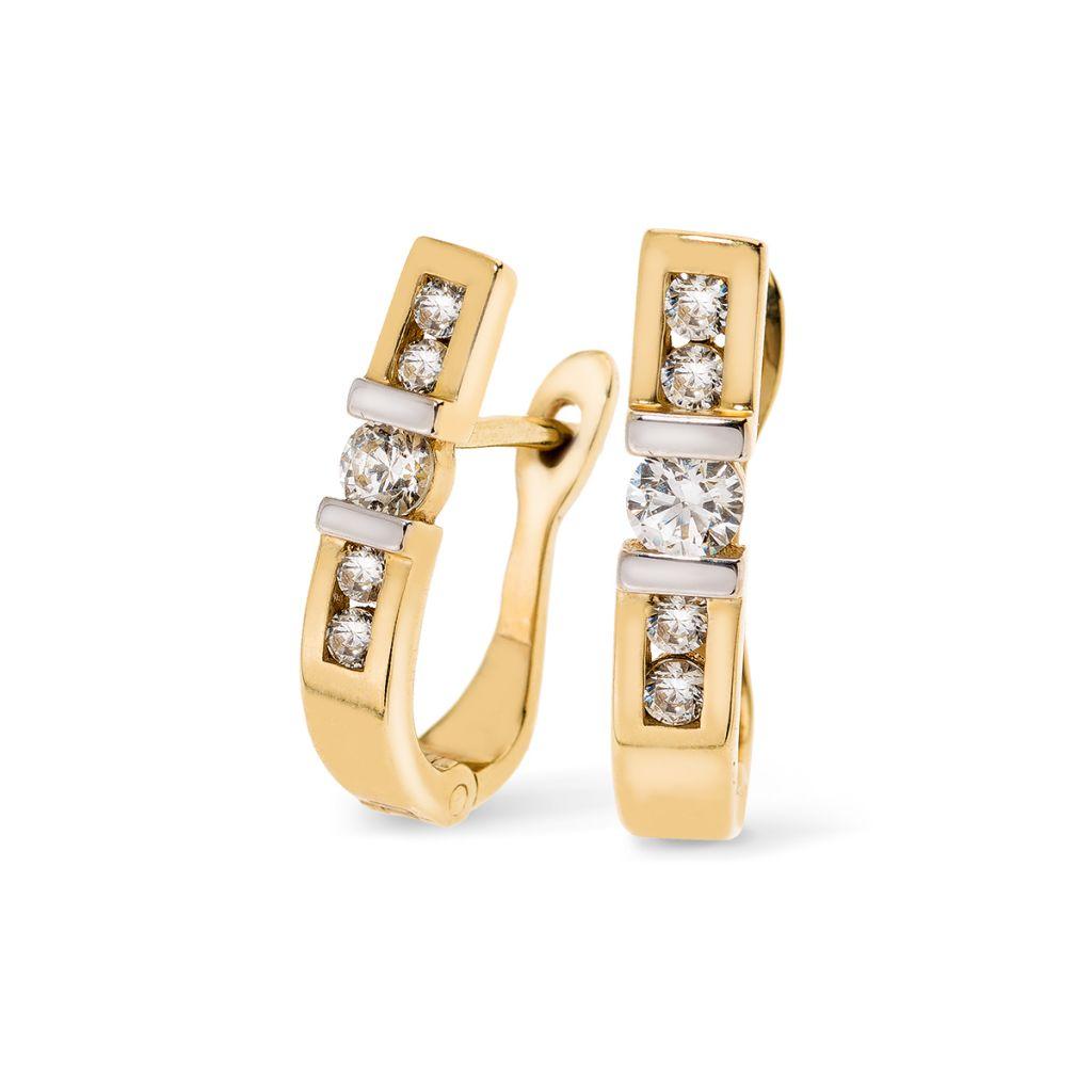 30ab5dfa7b411 Kolczyki złote W.KRUK - 8187