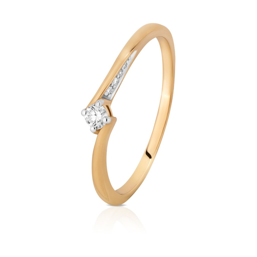 Kupićpl W Kruk Pierścionek Zaręczynowy Złoty Wkruk