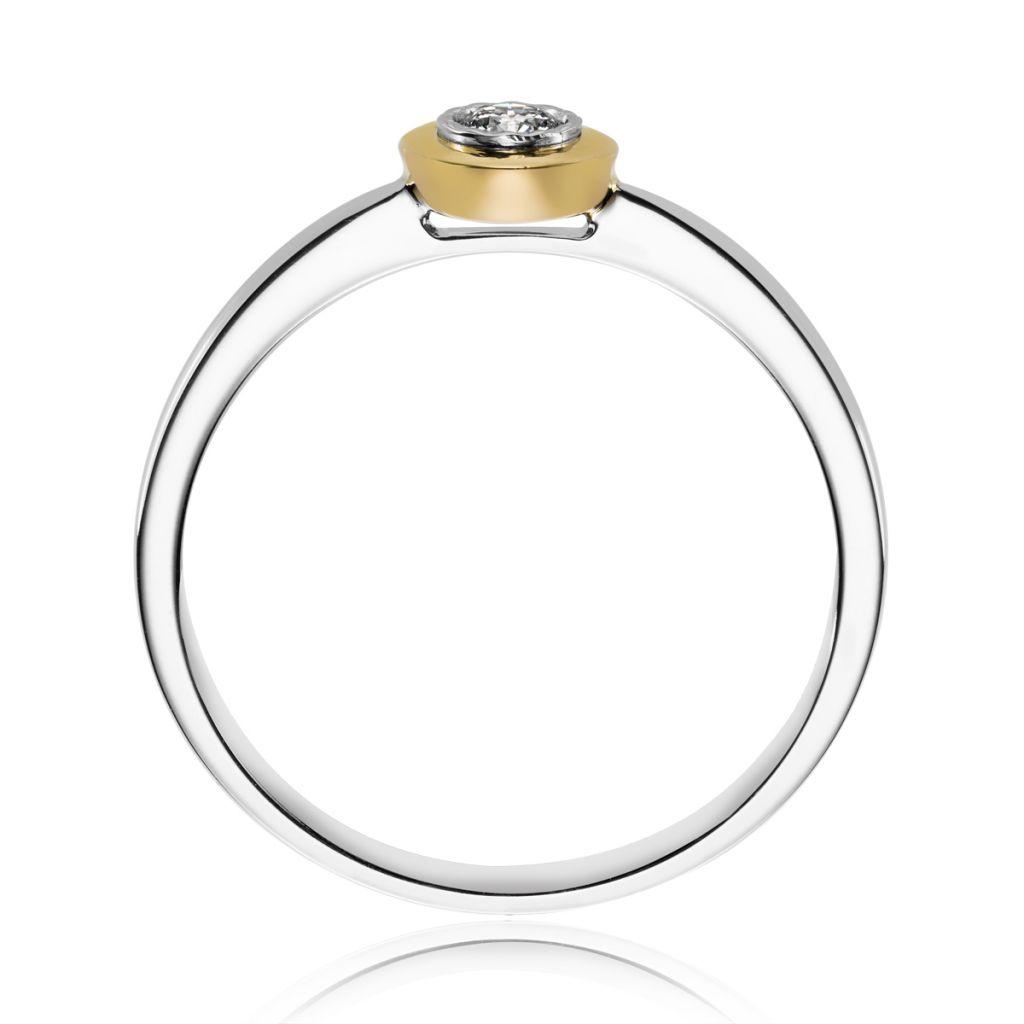 pierścionki pierścionek złoty w.kruk - w.kruk