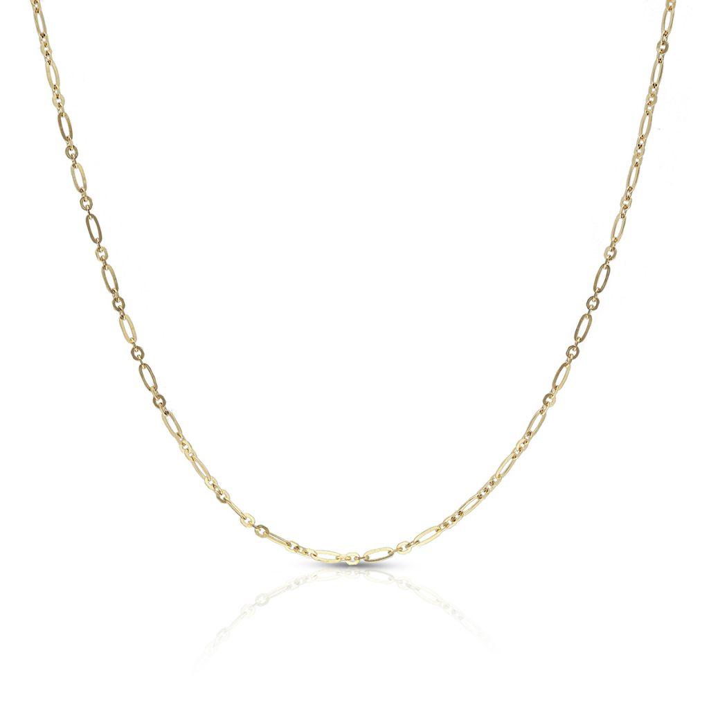 Łańcuszek złoty figaro