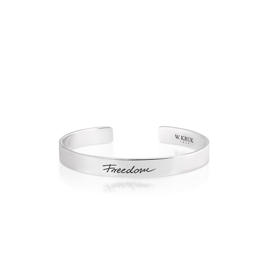 Bransoleta srebrna Freedom - WWK/AS1390