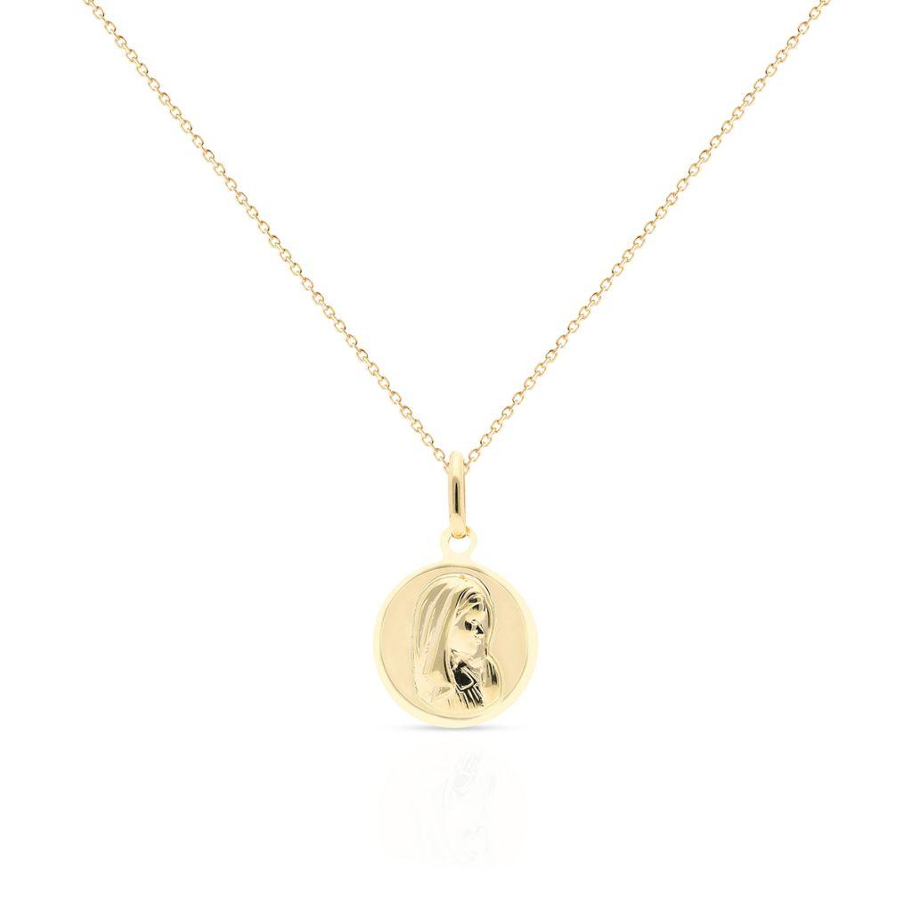 Wisiorek złoty medalik