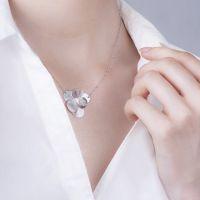 Naszyjnik srebrny geometryczny