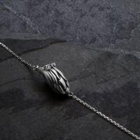 Bransoleta srebrna Freedom