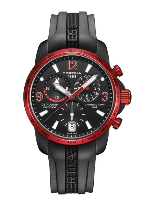 ZEGAREK CERTINA DS PODIUM CHRONO GMT